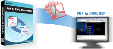 PDF to DXF Converter - Converts PDF to DXF format