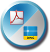 Converts PDF to DXF and PDF to DWG